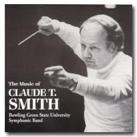 Music of Claude T Smith CD cover