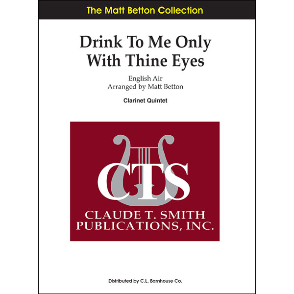 Drink To Me Only With Thine Eyes Album Cover